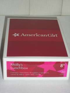 American Girl Doll AG EMPTY BOX Mollys Lunchbox Box