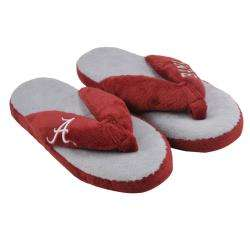 Alabama Crimson Tide Womens Flip Flop Thong Slippers
