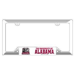 Alabama Crimson Tide Car Tag Frame   Set of 2 Sports
