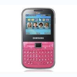 Samsung Ch@t C322 GSM Unlocked Pink Cell Phone
