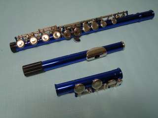 High Quality School Band Blue Flute Brand New
