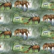 Springs Creative Wild Wings Willow Brook Scenic 44 wide Fabric by the