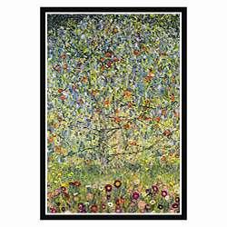 Gustav Klimt Apple Tree Framed Print Art