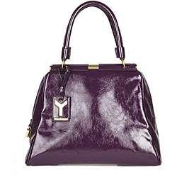 YSL Majorelle Purple Patent Leather Bag