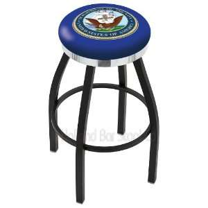Holland Bar Stools United States Navy 30 Bar Stool 30L8B2Cnavy Single