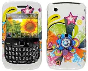 Blackberry Curve 8520 8530 Brown Cheetah Hard Case Cover