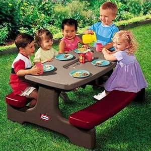 Little Tikes Endless Adventures EasyStore Childrens Picnic Table