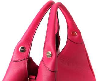 Cute ToteBag Brilliant Colors High Quality Real Leather Shopper Bag