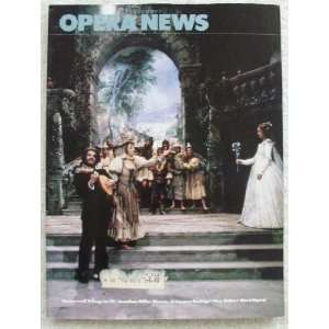 Opera News Magazine. June 1982. Single Issue Magazine