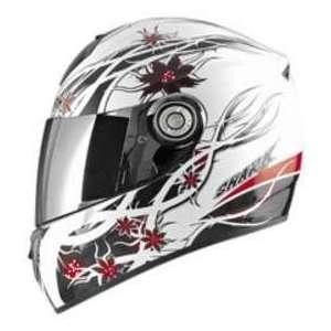 Shark RSI KARMA WHITE_RED SM MOTORCYCLE Full Face Helmet