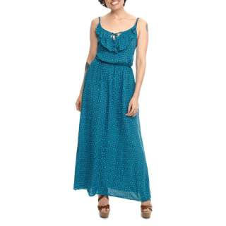 Miss Tina   Womens Ruffle Front Maxi Dress Women