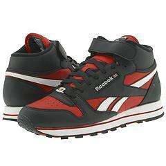 Reebok Lifestyle Classic Leather Mid Strap Speed SE Black/Flash Red