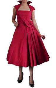 ROCKABILLY PINUP RETRO 50S SWING PARTY DRESS MAD MEN
