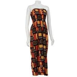 Nicewear Womens Tribal Print Maxi Dress  Overstock