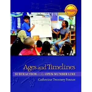 Ages and Timelines Subtraction on the Open Number Line