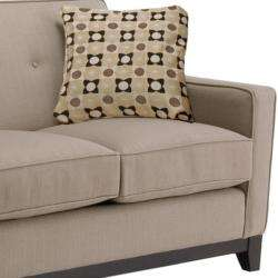 Jazz Pewter Fabric Sofa and Loveseat  Overstock