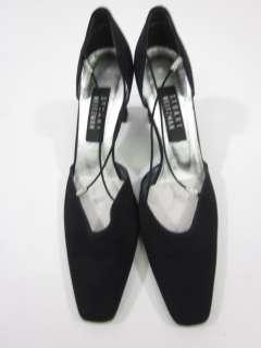 STUART WEITZMAN Black Strappy Heels Shoes Sz 8.5 AA