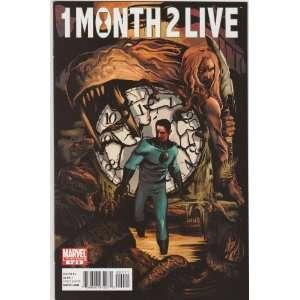 1 Month 2 Live #4 Marvel Comic Book John Ostrander Books