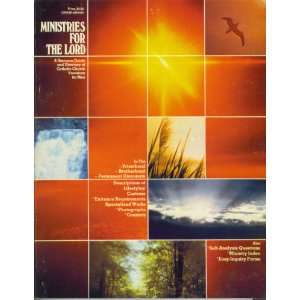 com Ministries for the Lord A Resource Guide and Directory of Church