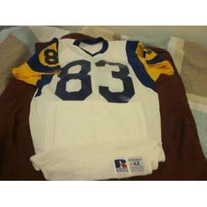 1980s/90s Los Angeles Rams Game Used Jersey F. Anderson