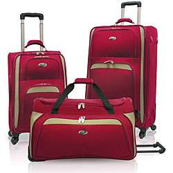 US Traveler Milano 3 piece Spinner Luggage Set