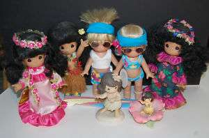 Precious Moments Hawaii Collection Dolls & Figurines
