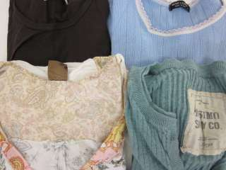 LOT 4 MICHAEL STARS MIMI & COCO Blue Brown White Top S