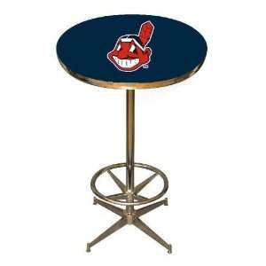 Cleveland Indians 40in Pub Table Home/Bar Game Room