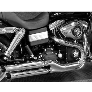 On Mufflers for 2008 2010 Harley Davidson FXDF Fat Bob Motorcycles