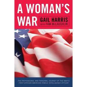 African American Female Intelligence Officer, Harris, Gail History