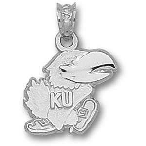 University Of Kansas Jayhawks Modeled Jayhawk Pendant