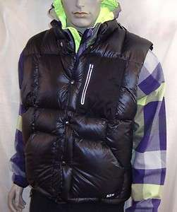 Nike NSW Full Snap Button Packable Down Mens Vest Jacket $200