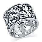 925 Sterling Silver Belt Buckle Band Ring items in SilverShake Store
