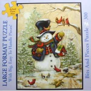 Bits and Pieces 300 Piece Puzzle   Large Format   Winter