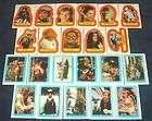 Star Wars ROTJ Jedi Vintage Sticker Card Set Series 2 items in Star