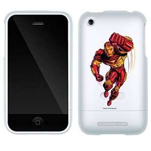 Iron Man Punching on AT&T iPhone 3G/3GS Case by Coveroo