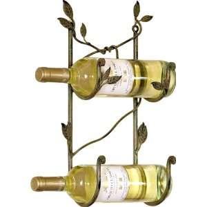 America Retold Nest Design Metal Wall Mount Wine Rack