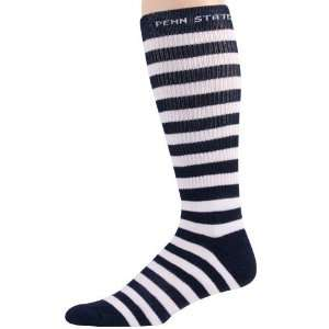Penn State Nittany Lions Navy Blue White Striped Tall