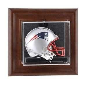 Patriots Wall Mounted Mini Helmet Display Case