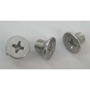 Stainless Steel Screw, 965 Flat Phillips M5 6 Box 500