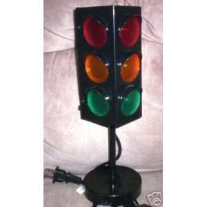 Lighted Illuminated Stop Light/Traffic Light Everything Else