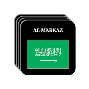 Saudi Arabia   AL MARKAZ Set of 4 Mini Mousepad Coasters