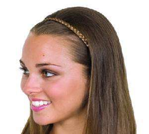 Thin Braidies® 1/4 Braided Faux Hair Headband 5 Colors