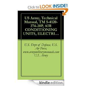 US Army, Technical Manual, TM 5 4120 274 20P, AIR CONDITIONING UNITS