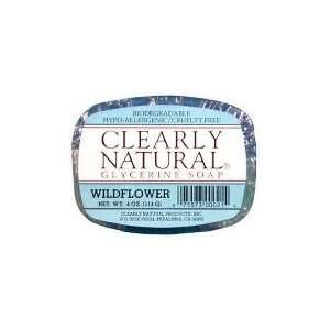 Clearly Natural Soap Bar Wildflower Beauty