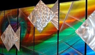 Large Tropical Modern Abstract Metal Wall Art Office Decor Sculpture