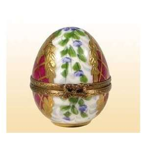 EGG with Perfume Bottle Authentic French Limoges Box