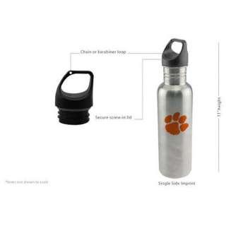 NCAA   Clemson Tigers Water Bottle
