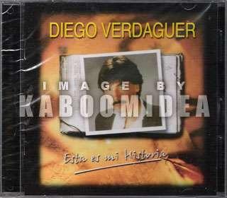 DIEGO VERDAGUER Esta Es Mi Historia CD 20 Exitos