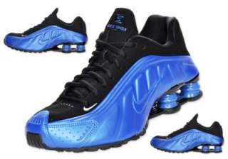 NIKE SHOX R4 FOAMPOSITE DARK NEON ROYAL MENs NEW SIZE